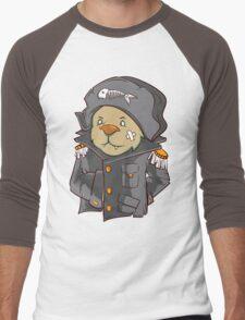 Captain Cat Men's Baseball ¾ T-Shirt