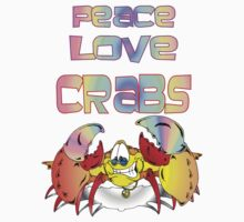 Peace Crab Kids Clothes