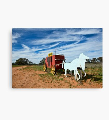 Outback Mailbox Canvas Print
