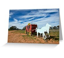 Outback Mailbox Greeting Card