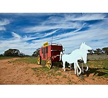 Outback Mailbox Photographic Print