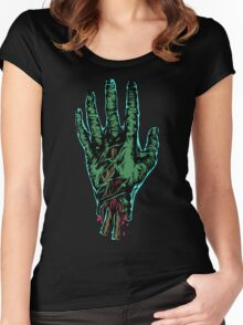 Zombhand Women's Fitted Scoop T-Shirt