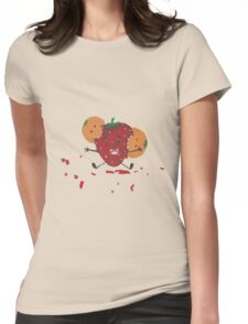 Fruit Zombies 2 Womens Fitted T-Shirt