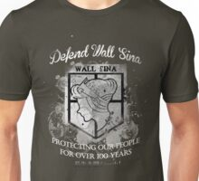 Defend Wall Sina! Unisex T-Shirt