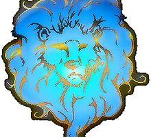 Mystic Lion by Skree