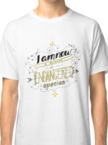 Endangered species Classic T-Shirt