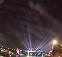 Light Show, Sydney, Australia 2004 by muz2142