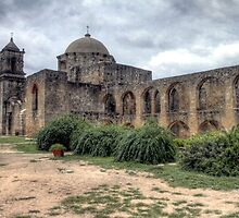 Mission San Jose - San Antonio, Texas by Terence Russell
