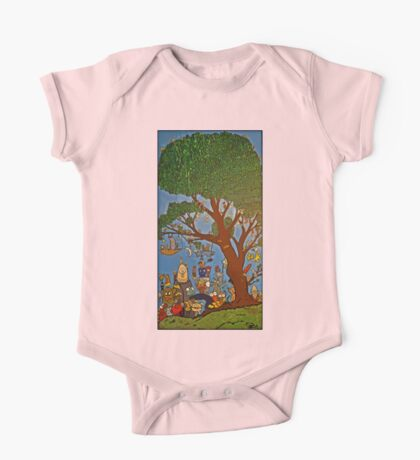Picnic under Tree One Piece - Short Sleeve