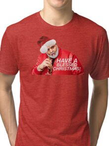 DJ Khaled Santa (variations available) Tri-blend T-Shirt