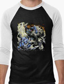 First Kaiju Battle Men's Baseball ¾ T-Shirt