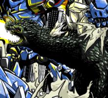 First Kaiju Battle Sticker