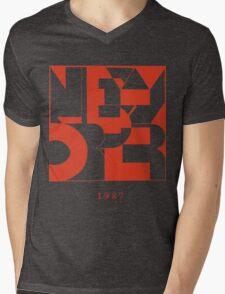 New Order Mens V-Neck T-Shirt