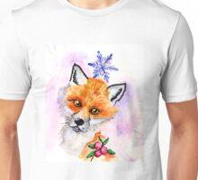 Curious Fox Unisex T-Shirt