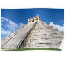 The Pyramid at Chichen Itza, Mexico Poster