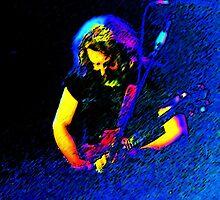 Jerry Garcia of the Grateful Dead by SmokynMonkee