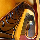 deco staircase by SharronS