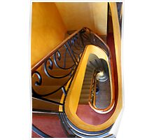 deco staircase Poster
