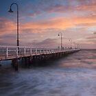 Kerford Rd Pier by Vicki Moritz