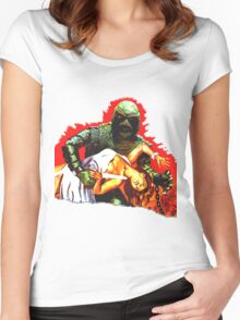 Creature on the Make  Women's Fitted Scoop T-Shirt