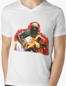 Creature on the Make  Mens V-Neck T-Shirt