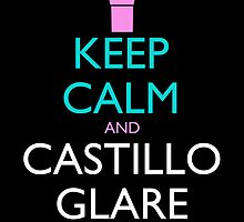 Keep Calm and Castillo Stare (Miami Vice - Black) by olmosperfect