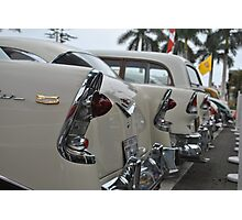 Chevy Line Up Photographic Print