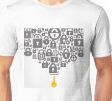 Lock Unisex T-Shirt