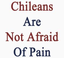 Chileans Are Not Afraid Of Pain  by supernova23