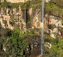 Govetts leap falls, Blackheath by SharronS