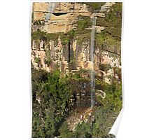 Govetts leap falls, Blackheath Poster