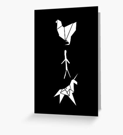 Blade Runner - Origami Greeting Card