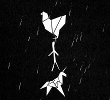 Blade Runner - Origami (Rain) by olmosperfect