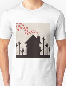 Love house Unisex T-Shirt