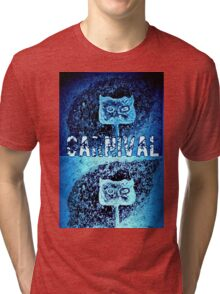 Carnival Conciousness digital remix T shirts Tri-blend T-Shirt
