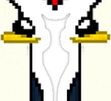 Adventure Time Gunter Love Pixel Art Sticker