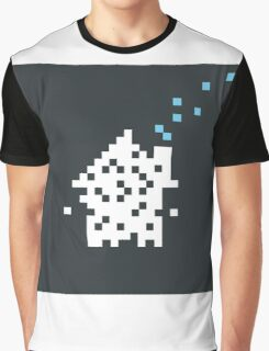 Pixel the house Graphic T-Shirt