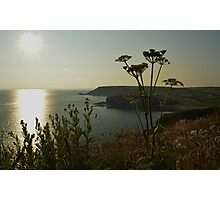 Church cove sunset Photographic Print