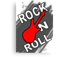 Rock! Canvas Print