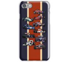 Formula 1 iPhone Case/Skin