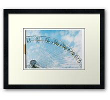 Carousel II. Framed Print