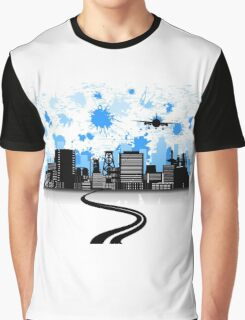 Road to a city Graphic T-Shirt