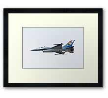 Belgian Air Force Display Plane Framed Print