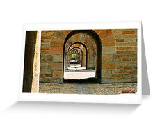 """"""" Underneath the Arches"""" Greeting Card"""