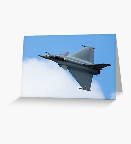 Dassault Rafale C of the French Air Force Greeting Card
