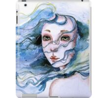 """Lily"" Surreal Watercolor Portrait iPad Case/Skin"