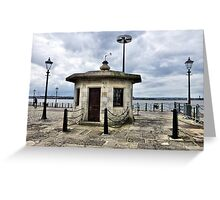 The Watchmands Hut. Greeting Card