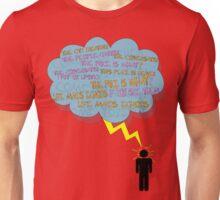 life makes ECHOES. (stick boy.) Unisex T-Shirt