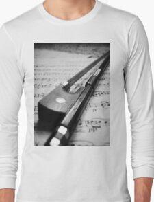 Violin Bow Long Sleeve T-Shirt