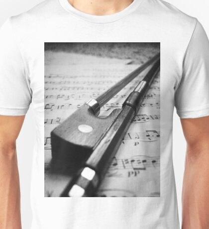 Violin Bow Unisex T-Shirt